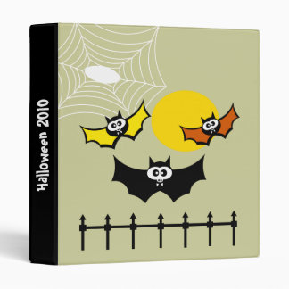 Bat-tacular Halloween Binder