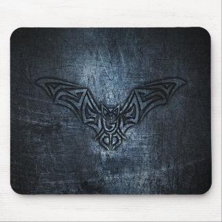 Bat Tribal Steel Metallic Mouse Mat