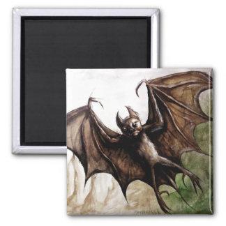 bat wing refrigerator magnet