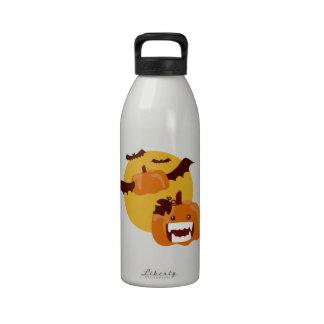 Bat Winged Pumpkin Drinking Bottle