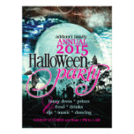 Bat Wings Moon Fairy-tale Halloween Party Custom Invites