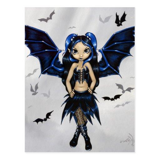 """Bat Wings"" Postcard"