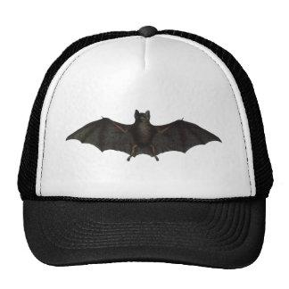 Bat With Open Wings Cap