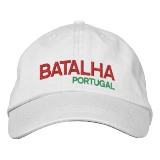 Batalha* Portugal Personalized Adjustable Hat Embroidered Hats