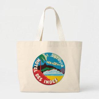 BataviaHotelJava Jumbo Tote Bag