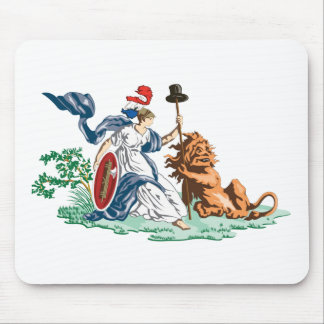 Batavian Republic Jack 1797-1806 Mouse Pad