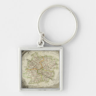 Batch and Garonne Key Ring