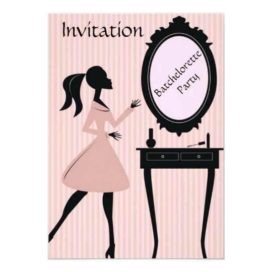 Batchelorette Party Invitation