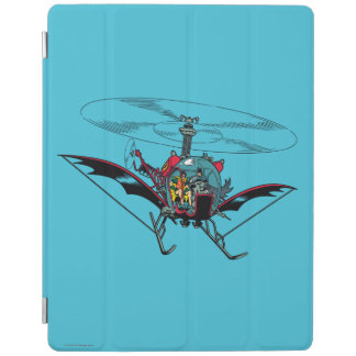 Batcopter iPad Cover