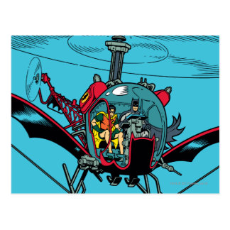 Batcopter Postcard