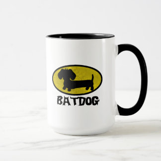 Batdog Wiener Dog Coffee Tea Mug