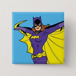Batgirl 15 Cm Square Badge