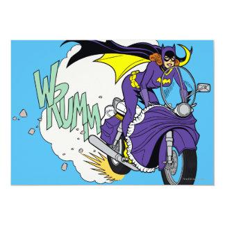 Batgirl Cycle 13 Cm X 18 Cm Invitation Card