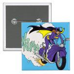 Batgirl Cycle 15 Cm Square Badge