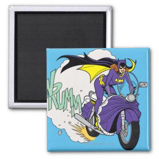 Batgirl Cycle Square Magnet