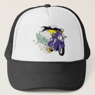 Batgirl Cycle Trucker Hat