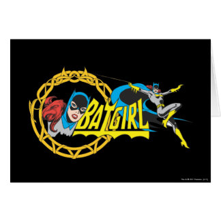 Batgirl Display Card