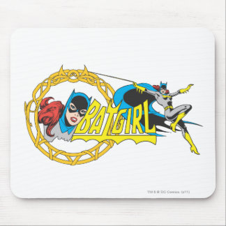 Batgirl Display Mouse Mat
