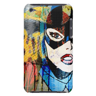 Batgirl Head iPod Touch Cases