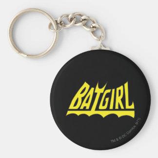 Batgirl Logo Key Ring