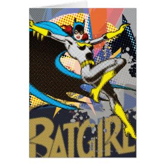 Batgirl Mid-Air Card