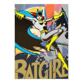 Batgirl Mid-Air 13 Cm X 18 Cm Invitation Card