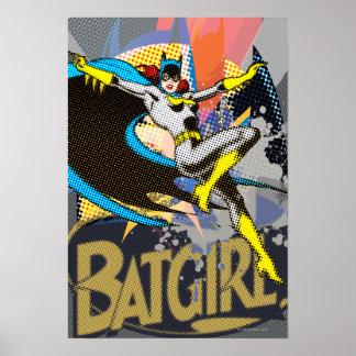Batgirl Mid-Air Poster