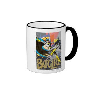 Batgirl Mid-Air Ringer Mug