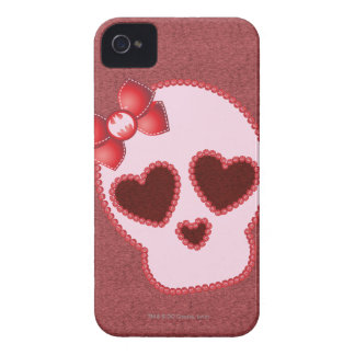 Batgirl Skull With Bow Case-Mate iPhone 4 Cases
