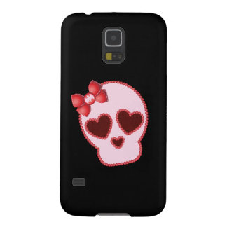 Batgirl Skull With Bow Galaxy S5 Case