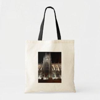 Bath Abbey at night Canvas Bag