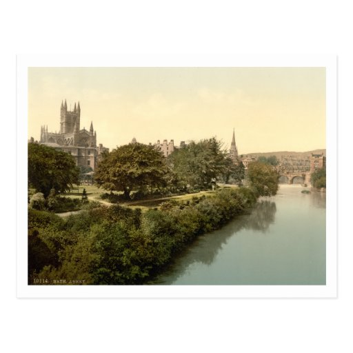 Bath Abbey, Bath, Somerset, England Postcards