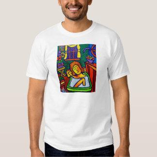 Bath Abstract Tee Shirts