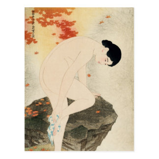 Bath Aroma Ito Shinsui Japanese Fine Art Postcard