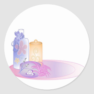 Bath & Beauty Items #2 Stickers