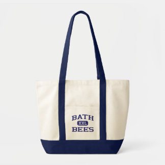 Bath - Bees - Junior High School - Bath Michigan Tote Bag