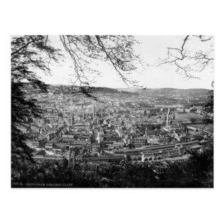 Bath City Somerset U K postcard c1895 Postcard