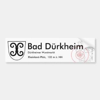 Bath Duerkheim 1 Bumper Sticker