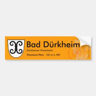 Bath Duerkheim 3 Bumper Sticker