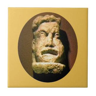 Bath England 1986 Roman Man Statue1 snap-17443 jGi Ceramic Tile