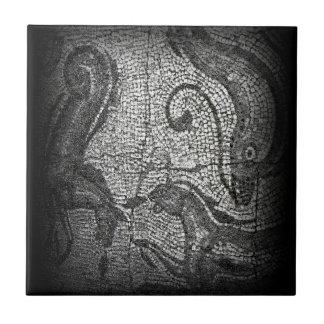 Bath England 1986 Roman Mural1 snap-13839 jGibney Small Square Tile