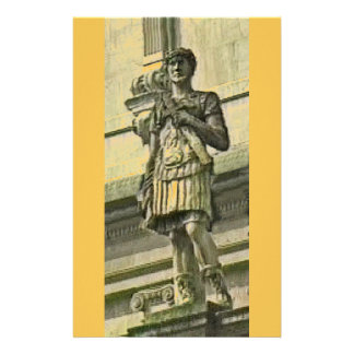 Bath England 1986 Roman Solider Statue1 snap-17612 Stationery Design