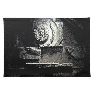 Bath England 1986 Roman Sun God snap-13584 jGibney Place Mat