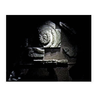 Bath England 1986 Roman Sun God snap-13584 jGibney Post Cards