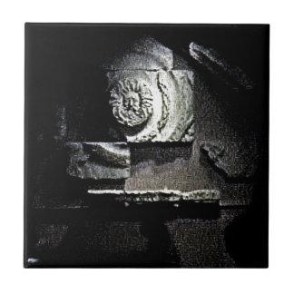 Bath England 1986 Roman Sun God snap-13584 jGibney Small Square Tile