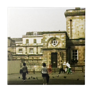 Bath England 1986 snap-12152 jGibney The MUSEUM Za Small Square Tile