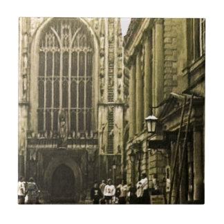 Bath England 1986 snap-12391 jGibney The MUSEUM Za Small Square Tile