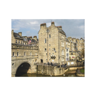 Bath England Canvas Print