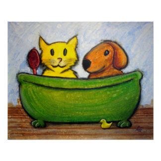 Bath Friends Poster