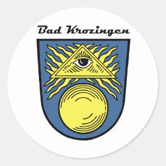 Bath Krozingen Round Sticker
